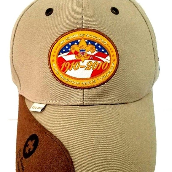 Boy Scout 100 Years Of Scouting Hat NWT 9283d3de15f
